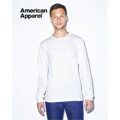 American Apparel Unisex Fine Jersey Long Sleeve Te